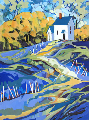 """Seclusion"" painting by Carolee Clark"